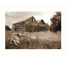 Abandoned winery 4 Art Print