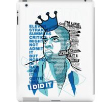 Jay-Z Eleven Straight Summers iPad Case/Skin