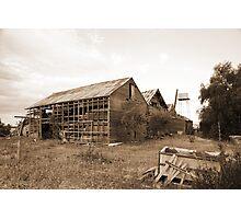 Abandoned winery 5 Photographic Print
