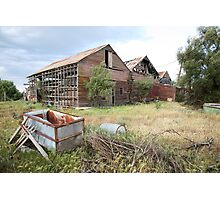 Abandoned Winery  Photographic Print