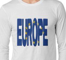 European flag Long Sleeve T-Shirt
