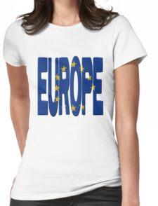 European flag Womens Fitted T-Shirt