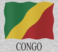 Congolese flag One Piece - Long Sleeve