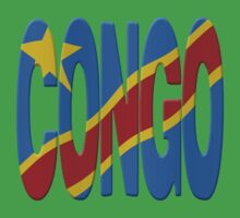 DR Congo flag by stuwdamdorp