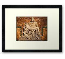 La Pietà by Michelangelo Framed Print