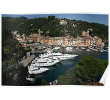 View of Portofino Poster