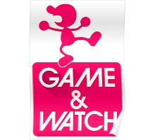 Game And Watch Nintendo Poster
