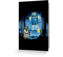 May the Tardis be with You Greeting Card