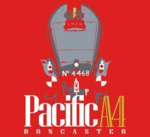 Pacific A4 Kids Tee