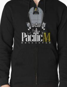 Pacific A4 Zipped Hoodie