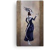 A Creature of Tea and Ink Canvas Print
