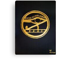 The Eye Of Horus Canvas Print
