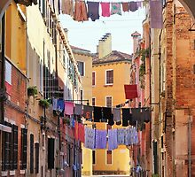 Laundry Day in Venice by ColeCollection