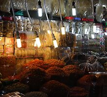 Food Market, Ho Chi Minh City by theloneginger