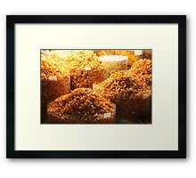 Prawns at Market, Ho Chi Minh City Framed Print