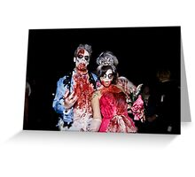 Zombies of the Month - September Greeting Card