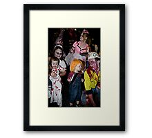 Zombies of the Month - October Framed Print