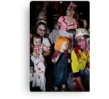 Zombies of the Month - October Canvas Print
