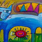 The Sun King by ART PRINTS ONLINE         by artist SARA  CATENA