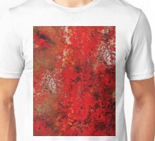 Red Earth Abstract Unisex T-Shirt