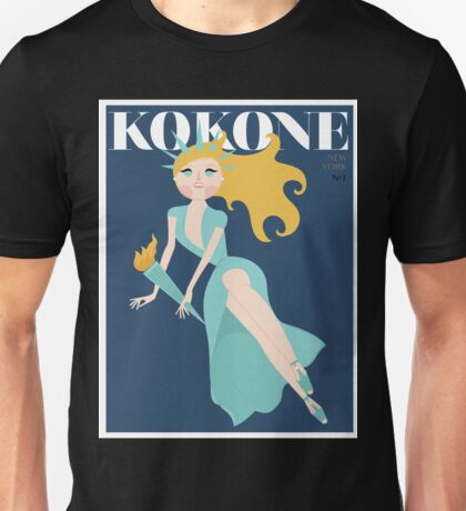 NEW YORK / KOKONE POSTER 2015 Unisex T-Shirt