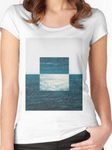 Idealism & Joy #redbubble Women's Fitted Scoop T-Shirt