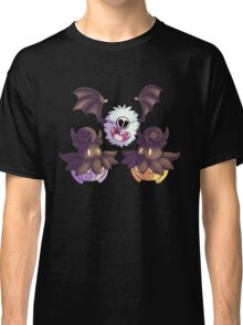 Halloween Pokemon - Pumpkaboo and Woobat Classic T-Shirt
