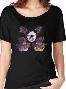 Halloween Pokemon - Pumpkaboo and Woobat Women's Relaxed Fit T-Shirt