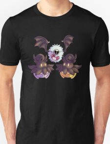 Halloween Pokemon - Pumpkaboo and Woobat Unisex T-Shirt