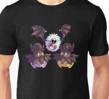 Halloween Pokemon - Pumpkaboo and Woobat Unisex T-Shirt