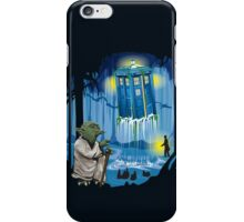 May the Tardis be with you, Dr Who iPhone Case/Skin