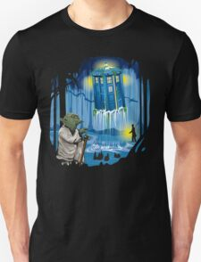 May the Tardis be with you, Dr Who T-Shirt