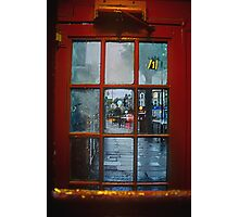 The old Phone-box Photographic Print