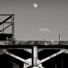 industrial moon by Jeff Stubblefield