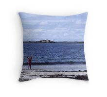 The Joy of Being Alive Throw Pillow