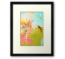 Message from the Muse - Greeting Card Framed Print