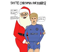 Shite Christmas for Torres Photographic Print