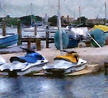 O'Learys Jet Ski Play Toys on Waterfront by Barrington DeMers
