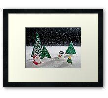 A Winter's Scene Framed Print
