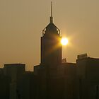 Sunrise over Wanchai by robigeehk