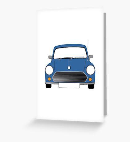 Blue Mini Greeting Card