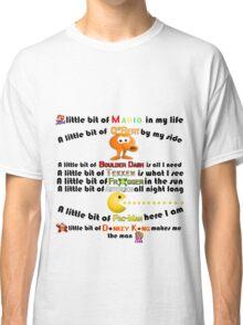 A Little bit of Old school arcade games Classic T-Shirt