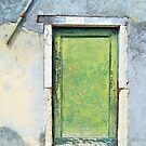 Little Green Door by ColeCollection