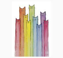 Rainbow of Cats Kids Tee