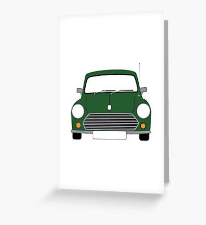 Green Mini Greeting Card