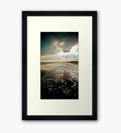 Wexford, Ireland, Curracloe Beach, New Years Day 2009  Framed Print