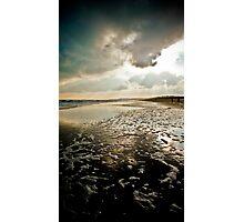 Wexford, Ireland, Curracloe Beach, New Years Day 2009  Photographic Print
