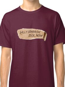 Sally Sparrow, duck now! Classic T-Shirt