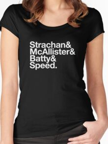 Strachan & McAllister & Batty & Speed Women's Fitted Scoop T-Shirt