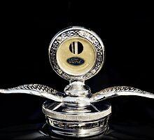1930 Ford Hood Ornament  by Saija  Lehtonen